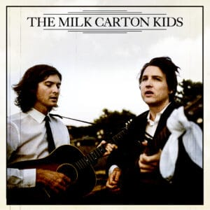 An event poster for The Milk Carton Kids on December 6, 2021 at The Metropolitan Theatre.